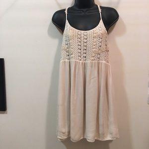 Alya lace spaghetti strap dress lace bodice Medium
